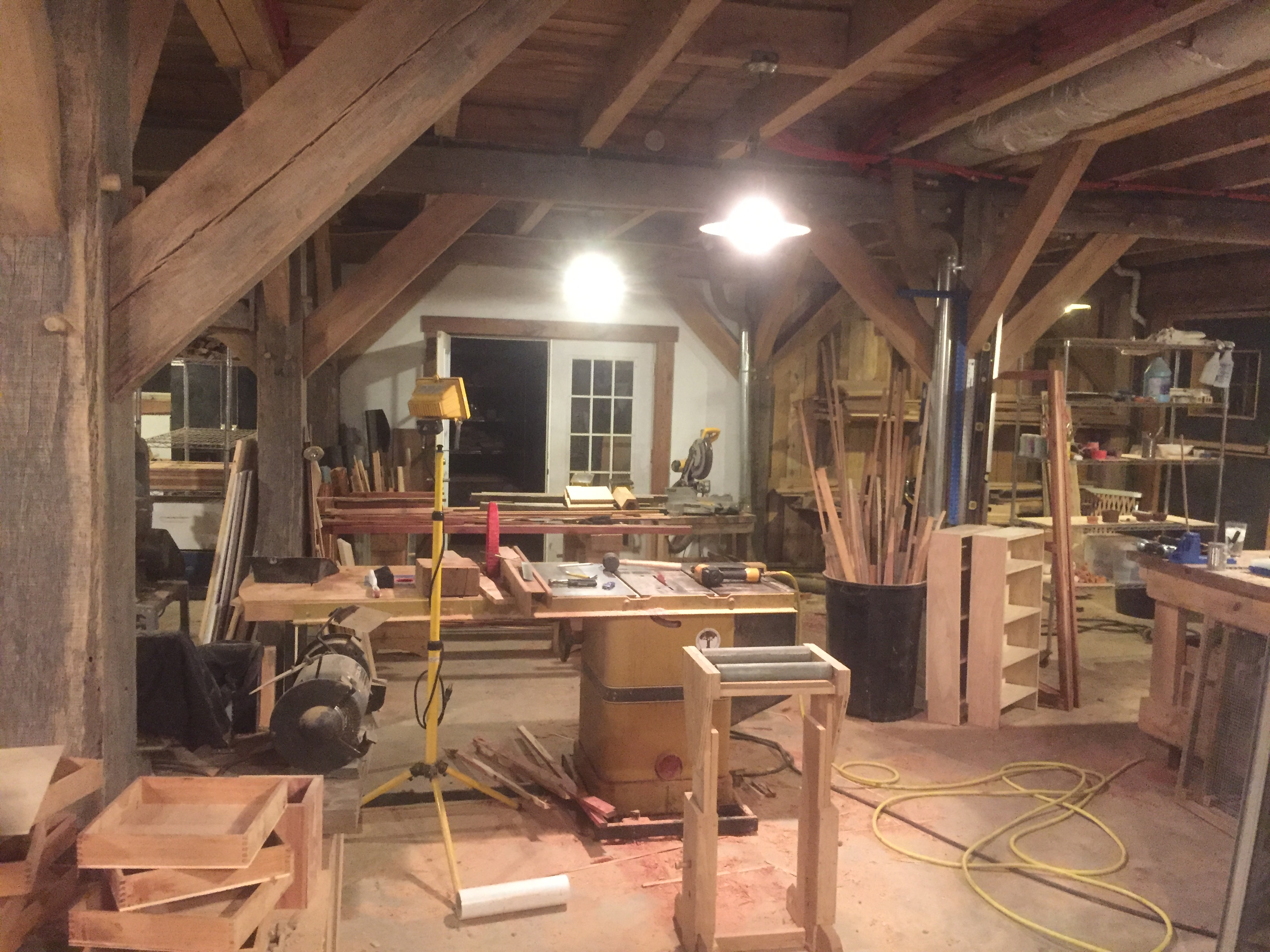Timber Framing and Woodworking Classes 2018