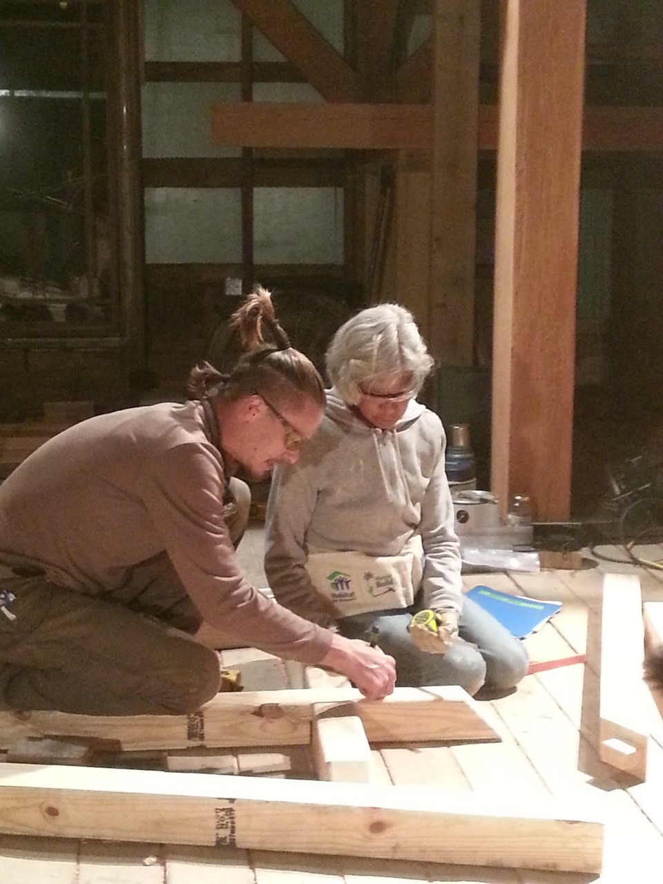 Timber Framing & Woodworking Classes - Heartmoor Farm