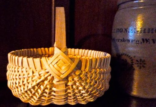 Learn to make an egg basket with Donna Bedwell