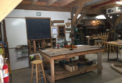 Timber Framing and Woodworking Classes 2019